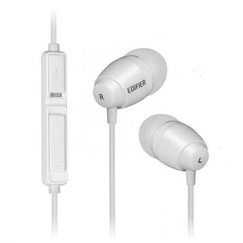 EDIFIER Earphone [K210] - White - Earphone Ear Monitor / Iem